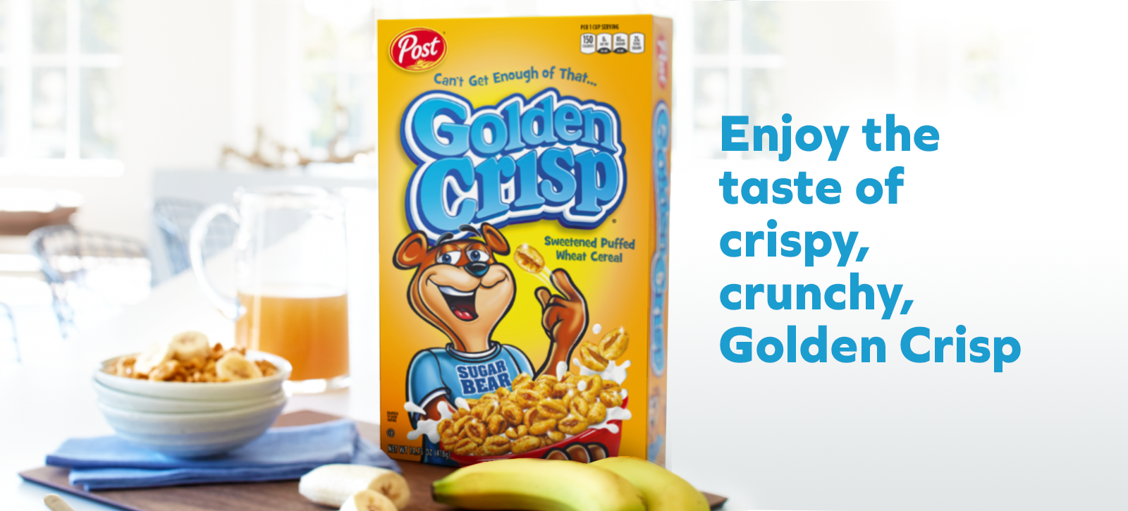 Golden Crisp Web Banner